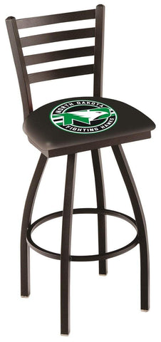North Dakota Fighting Hawks HBS Ladder Back High Swivel Bar Stool Seat Chair - Sporting Up