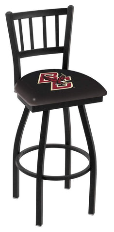"Boston College Eagles HBS ""Jail"" Back High Top Swivel Bar Stool Seat Chair"