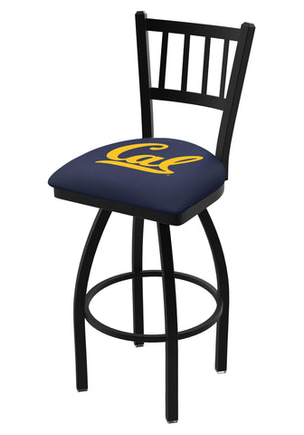 "California Golden Bears HBS ""Jail"" Back High Top Swivel Bar Stool Seat Chair"