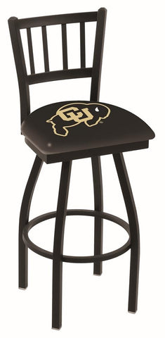 "Colorado Buffaloes HBS ""Jail"" Back High Top Swivel Bar Stool Seat Chair"