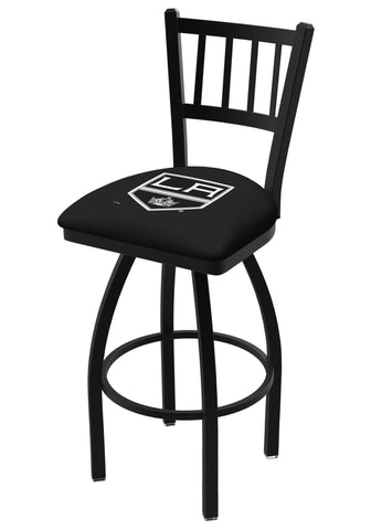 "Los Angeles Kings HBS ""Jail"" Back High Top Swivel Bar Stool Seat Chair"