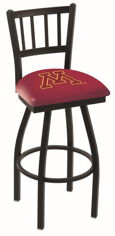 "Minnesota Golden Gophers HBS ""Jail"" Back High Top Swivel Bar Stool Seat Chair - Sporting Up"