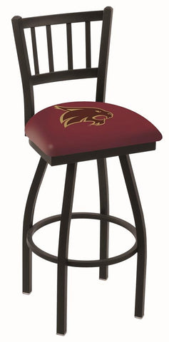 "Texas State Bobcats HBS Red ""Jail"" Back High Top Swivel Bar Stool Seat Chair"