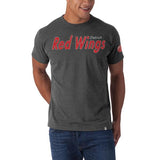 Detroit Red Wings 47 Brand Vintage Allbright Fieldhouse Gray T-Shirt