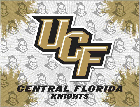 UCF Knights HBS Gray Gold Wall Canvas Art Picture Print