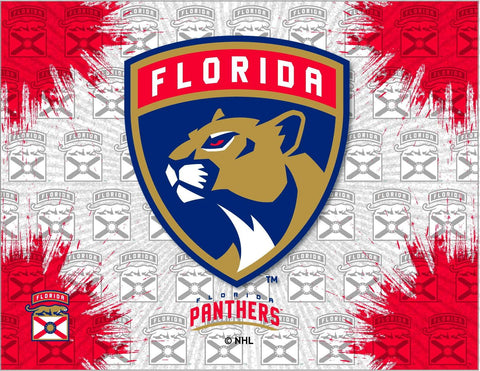 Florida Panthers HBS Gray Red Hockey Wall Canvas Art Picture Print