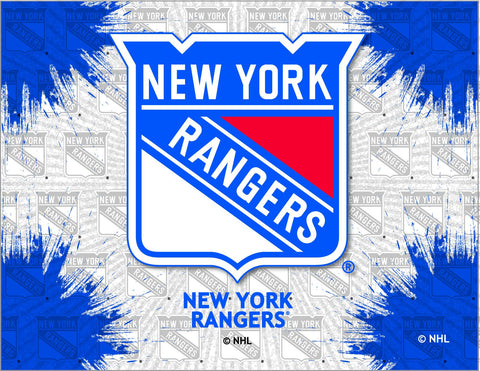 New York Rangers HBS Gray Blue Hockey Wall Canvas Art Picture Print