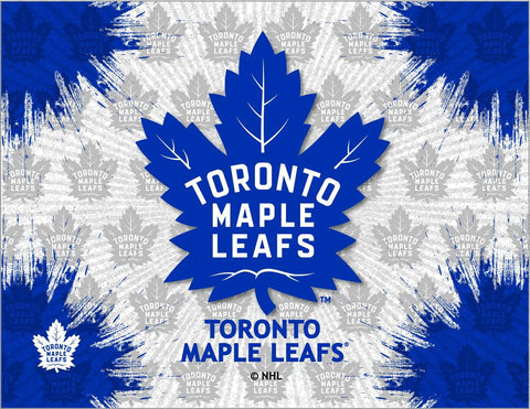 Toronto Maple Leafs HBS Gray Navy Hockey Wall Canvas Art Picture Print