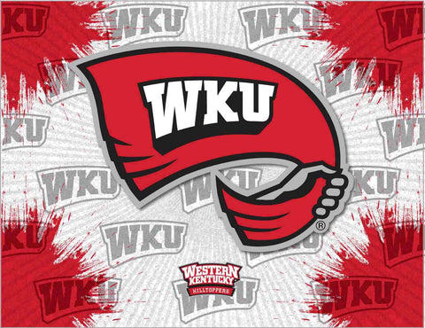 Western Kentucky Hilltoppers HBS Wall Canvas Art Picture Print