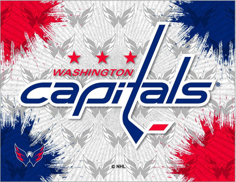 Washington Capitals HBS Gray Navy Hockey Wall Canvas Art Picture Print