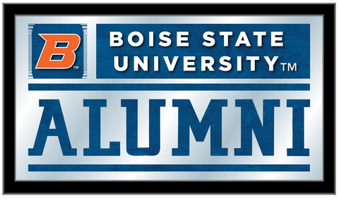 "Boise State Broncos Holland Bar Stool Co. Alumni Mirror (26"" x 15"")"