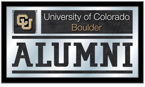 "Colorado Buffaloes Holland Bar Stool Co. Alumni Mirror (26"" x 15"")"