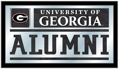 "Georgia Bulldogs Holland Bar Stool Co. Alumni Mirror (26"" x 15"")"