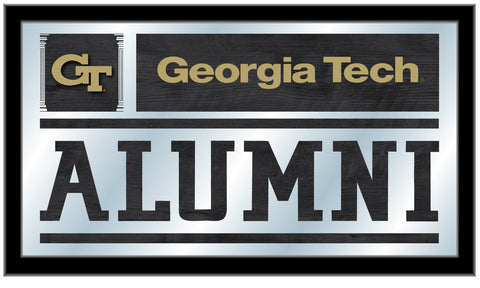 "Georgia Tech Yellow Jackets Holland Bar Stool Co. Alumni Mirror (26"" x 15"")"