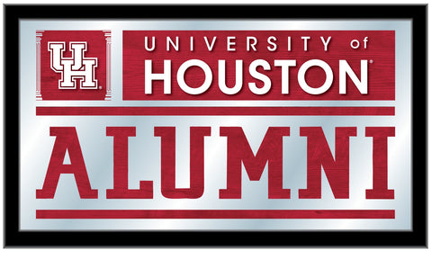 "Houston Cougars Holland Bar Stool Co. Alumni Mirror (26"" x 15"")"
