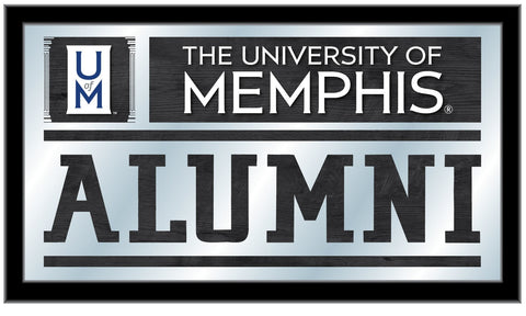 "Memphis Tigers Holland Bar Stool Co. Alumni Mirror (26"" x 15"") - Sporting Up"
