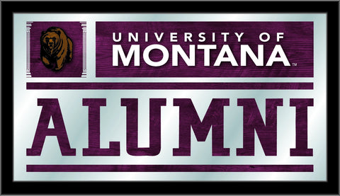 "Montana Grizzlies Holland Bar Stool Co. Alumni Mirror (26"" x 15"") - Sporting Up"