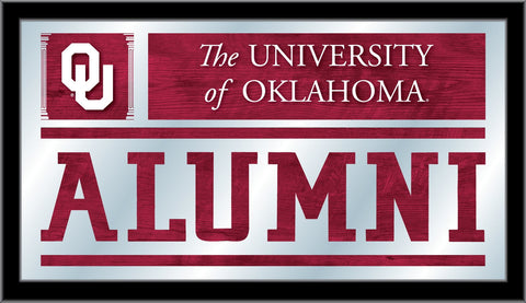 "Oklahoma Sooners Holland Bar Stool Co. Alumni Mirror (26"" x 15"")"
