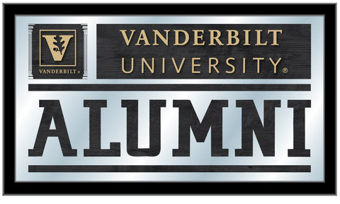 "Vanderbilt Commodores Holland Bar Stool Co. Alumni Mirror (26"" x 15"")"