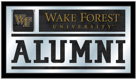 "Wake Forest Demon Deacons Holland Bar Stool Co. Alumni Mirror (26"" x 15"") - Sporting Up"