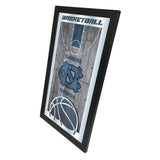 "North Carolina Tar Heels HBS Basketball Framed Hang Glass Wall Mirror (26""x15"") - Sporting Up"
