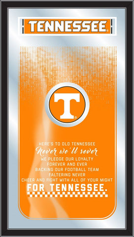 "Tennessee Volunteers Holland Bar Stool Co. Fight Song Mirror (26"" x 15"")"