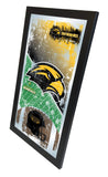 "Southern Miss Golden Eagles HBS Football Framed Hang Glass Wall Mirror (26""x15"") - Sporting Up"
