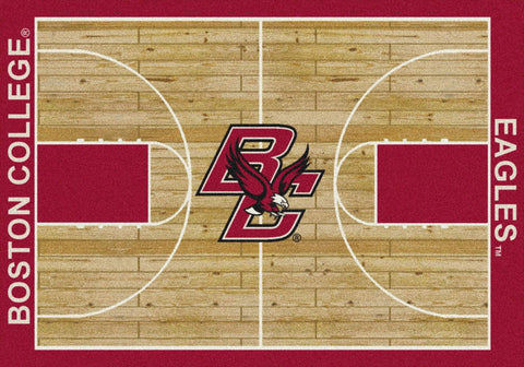 Boston College Eagles Milliken Basketball Home Court Novelty Area Rug