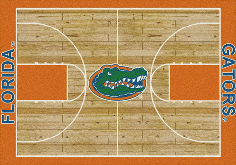 Florida Gators Milliken Basketball Home Court Novelty Area Rug
