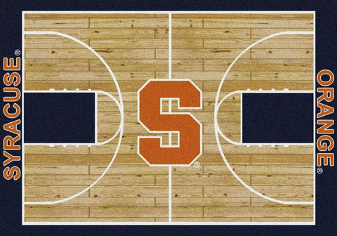 Syracuse Orange Milliken Basketball Home Court Novelty Area Rug