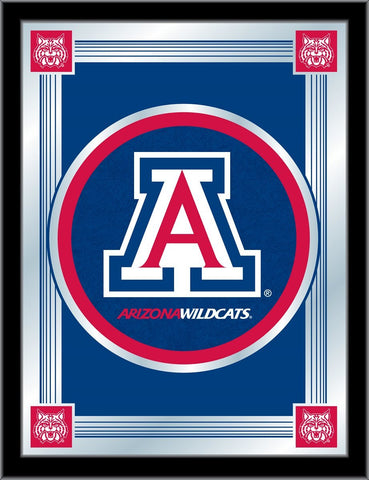 "Arizona Wildcats Holland Bar Stool Co. Collector Blue Logo Mirror (17"" x 22"")"