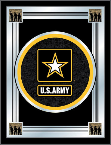 "United States U.S. Army Holland Bar Stool Co. Collector Logo Mirror (17"" x 22"")"