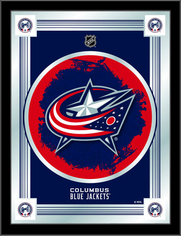 "Shop Columbus Blue Jackets Holland Bar Stool Co. Collector Logo Mirror (17"" x 22"") - Sporting Up"