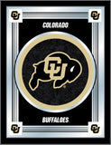 "Colorado Buffaloes Holland Bar Stool Co. Collector Black Logo Mirror (17"" x 22"") - Sporting Up"