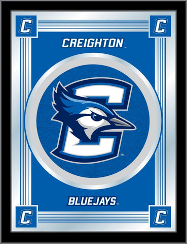 "Creighton Bluejays Holland Bar Stool Co. Collector Blue Logo Mirror (17"" x 22"")"