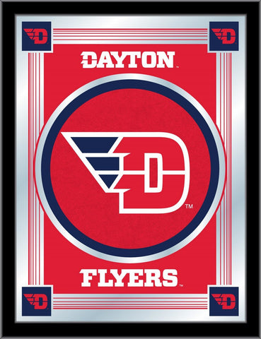 "Dayton Flyers Holland Bar Stool Co. Collector Red Logo Mirror (17"" x 22"")"