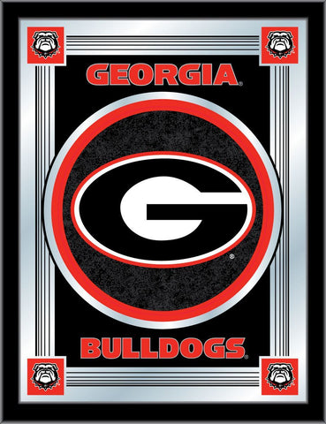 "Georgia Bulldogs Holland Bar Stool Co. Collector ""G"" Logo Mirror (17"" x 22"")"