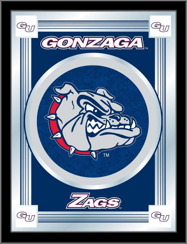 "Gonzaga Bulldogs Holland Bar Stool Co. Collector ""ZAGS"" Logo Mirror (17"" x 22"")"