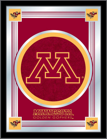"Minnesota Golden Gophers Holland Bar Stool Co. Collector Logo Mirror (17"" x 22"")"