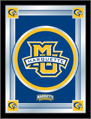 "Marquette Golden Eagles Holland Bar Stool Co. Collector Logo Mirror (17"" x 22"")"