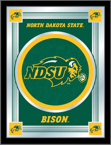 "North Dakota State Bison Holland Bar Stool Co. Collector Logo Mirror (17"" x 22"")"