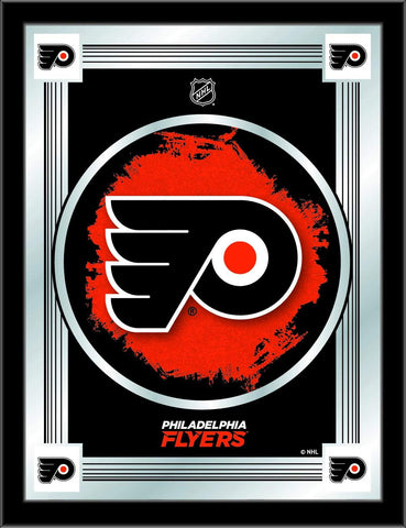 "Philadelphia Flyers Holland Bar Stool Co. Collector Logo Mirror (17"" x 22"")"