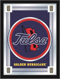 "Tulsa Golden Hurricane Holland Bar Stool Co. Collector Logo Mirror (17"" x 22"") - Sporting Up"