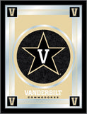 "Vanderbilt Commodores Holland Bar Stool Co. Collector Logo Mirror (17"" x 22"") - Sporting Up"