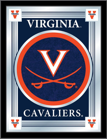 "Virginia Cavaliers Holland Bar Stool Co. Collector Blue Logo Mirror (17"" x 22"")"