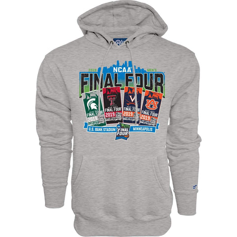 2019 NCAA Final Four Team Logos March Madness Ticket Hoodie Sweatshirt