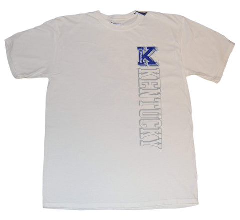 Kentucky Wildcats Champion Men's White Short Sleeve T-Shirt (L)