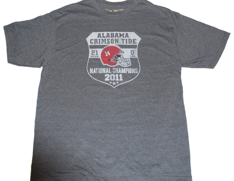 Alabama Crimson Tide The Victory 2011 Football National Champs T-Shirt (L)