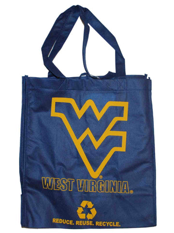 Shop West Virginia Mountaineers Green Forever Blue Reusable Bag (Sold in Lots of 2)