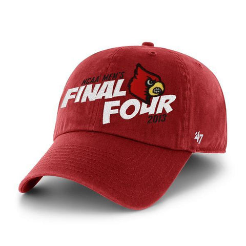 Louisville Cardinals 2013 Final Four '47 Brand Red Relax Adjustable Hat Cap